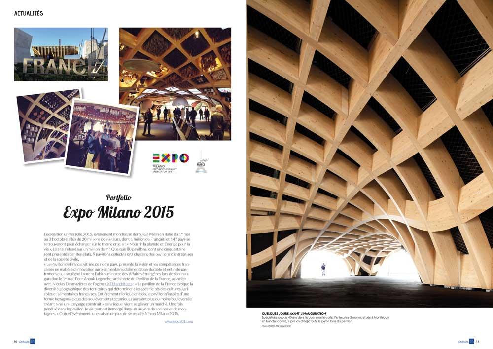 Eco Maison Bois n°35- Mw communication - Graphiste Webmaster Montauban Toulouse