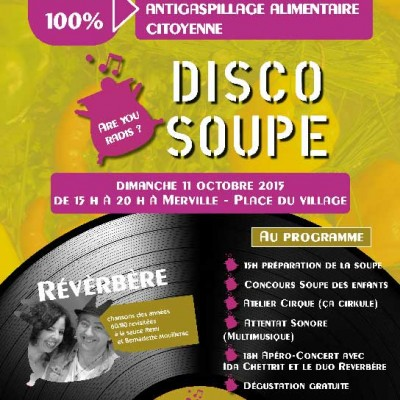 Affiche Discosoupe MW communication