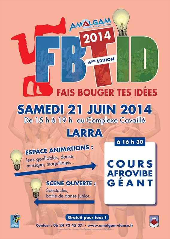 Affiche Fais bouger tes idées - Mw communication - Graphiste Webmaster Montauban Toulouse