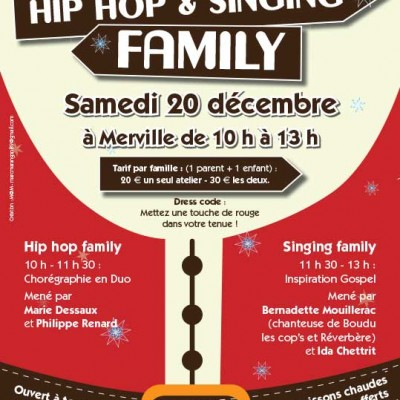 Affiche hiphop-singing-family MW communication