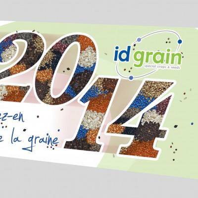 Carte de voeux Id grain - Mw communication
