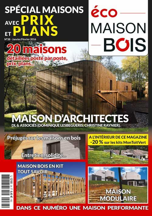 Eco Maison Bois n°38- Mw communication - Graphiste Webmaster Montauban Toulouse