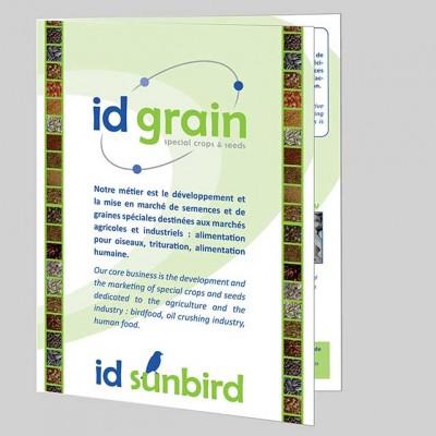 Dépliant Id Grain - MW communication
