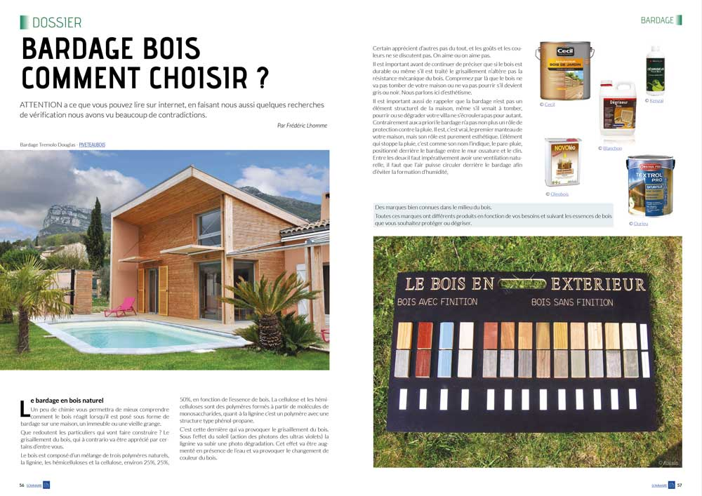 Eco maison Bois N°43- Mw communication - Graphiste Webmaster Montauban Toulouse