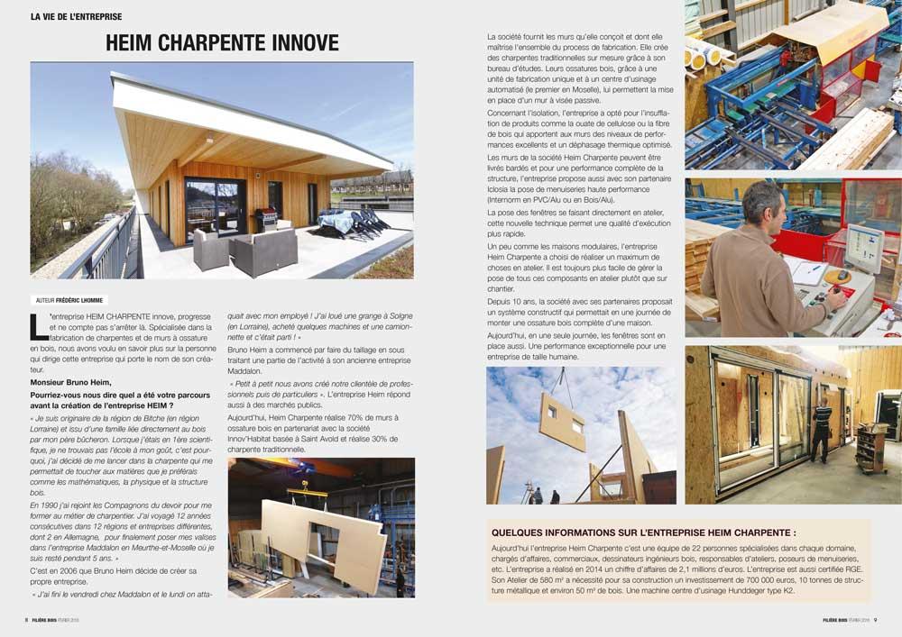 Filière Bois n°14- Mw communication - Graphiste Webmaster Montauban Toulouse