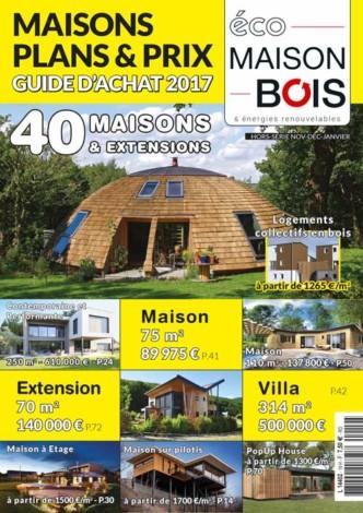 Eco maison Bois hors série n°19- Mw communication - Graphiste Webmaster Montauban Toulouse