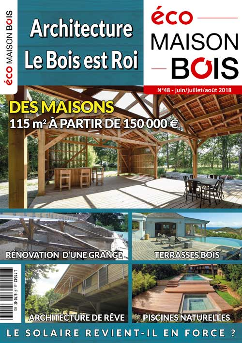Eco maison Bois N°48- Mw communication - Graphiste Webmaster Montauban Toulouse