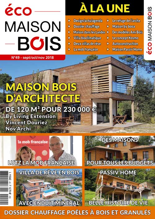 Eco maison Bois N°49- Mw communication - Graphiste Webmaster Montauban Toulouse