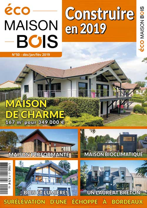 Eco maison Bois N°50- Mw communication - Graphiste Webmaster Montauban Toulouse