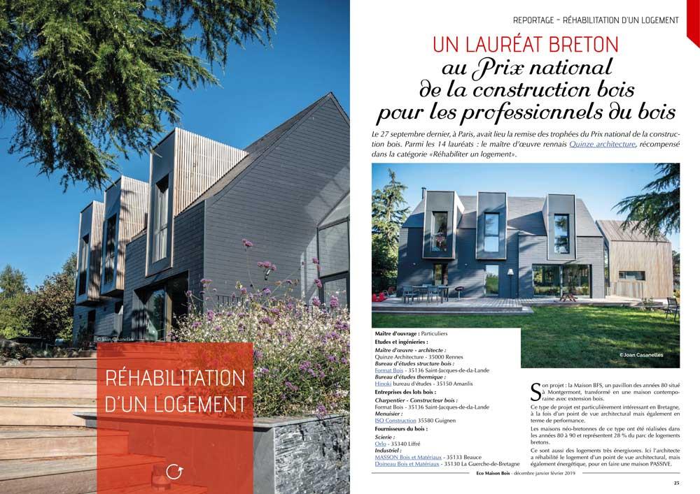 Eco maison Bois N°50- Mw communication - Graphiste Webmaster Montauban Toulouse