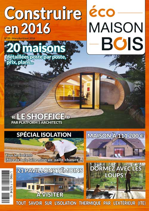 Eco Maison Bois n°39- Mw communication - Graphiste Webmaster Montauban Toulouse