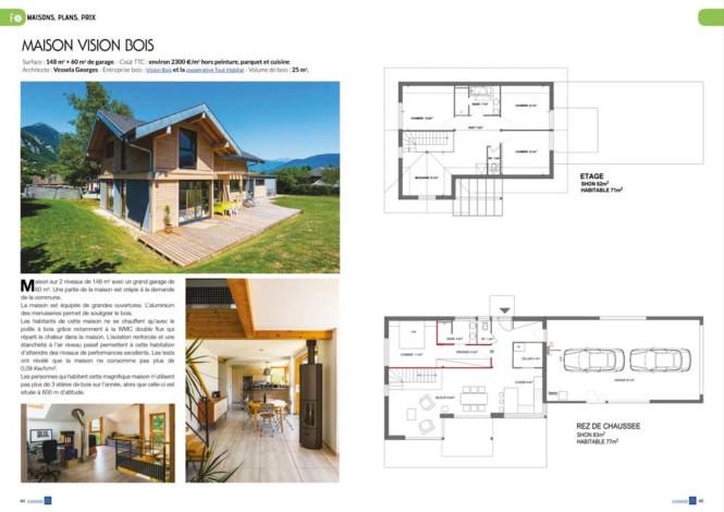Ecomaison Bois n°40- Mw communication - Graphiste Webmaster Montauban Toulouse