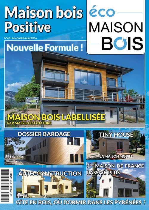 Eco maison Bois n°40- Mw communication - Graphiste Webmaster Montauban Toulouse