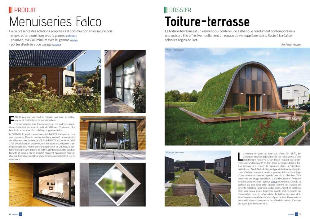 - Mw communication - Graphiste Webmaster Montauban ToulouseEco maison bois N° 42