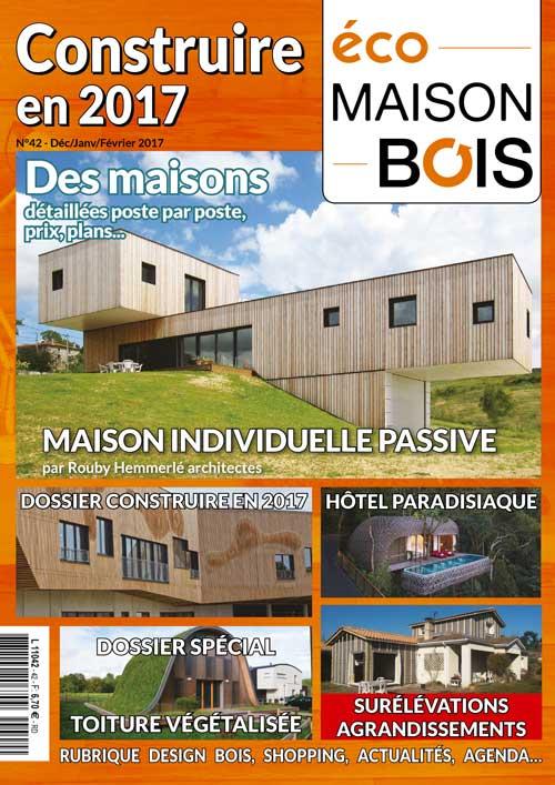 Eco maison bois N° 42- Mw communication - Graphiste Webmaster Montauban Toulouse