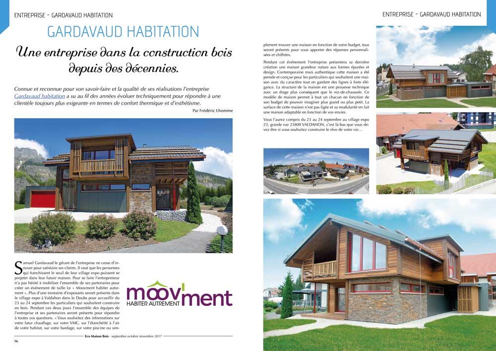 Eco maison Bois N°45- Mw communication - Graphiste Webmaster Montauban Toulouse