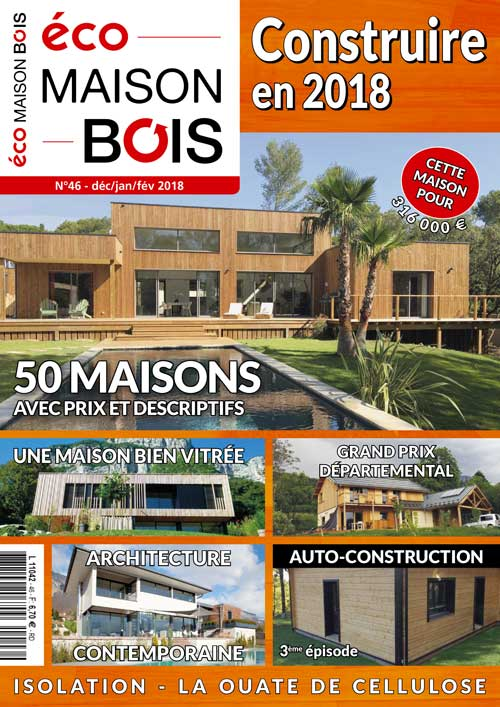 Eco maison Bois N°46- Mw communication - Graphiste Webmaster Montauban Toulouse