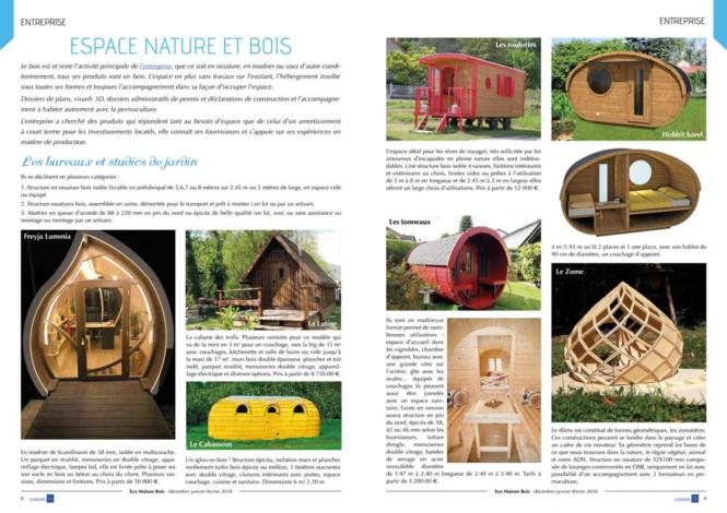 Eco maison Bois N°46- Mw communication - Graphiste Webmaster Montauban Toulouse