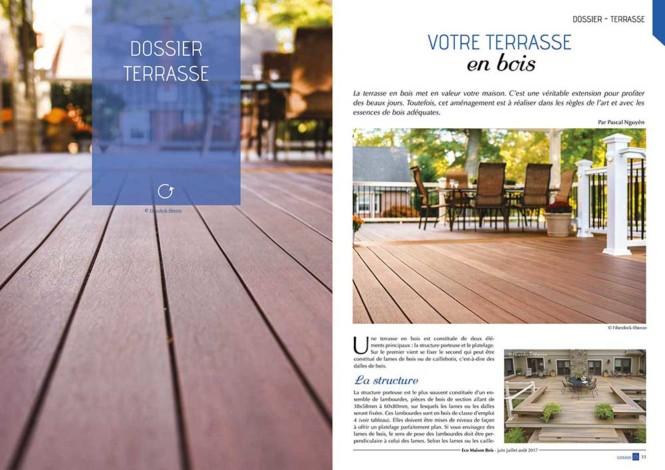 Eco maison Bois N°44- Mw communication - Graphiste Webmaster Montauban Toulouse