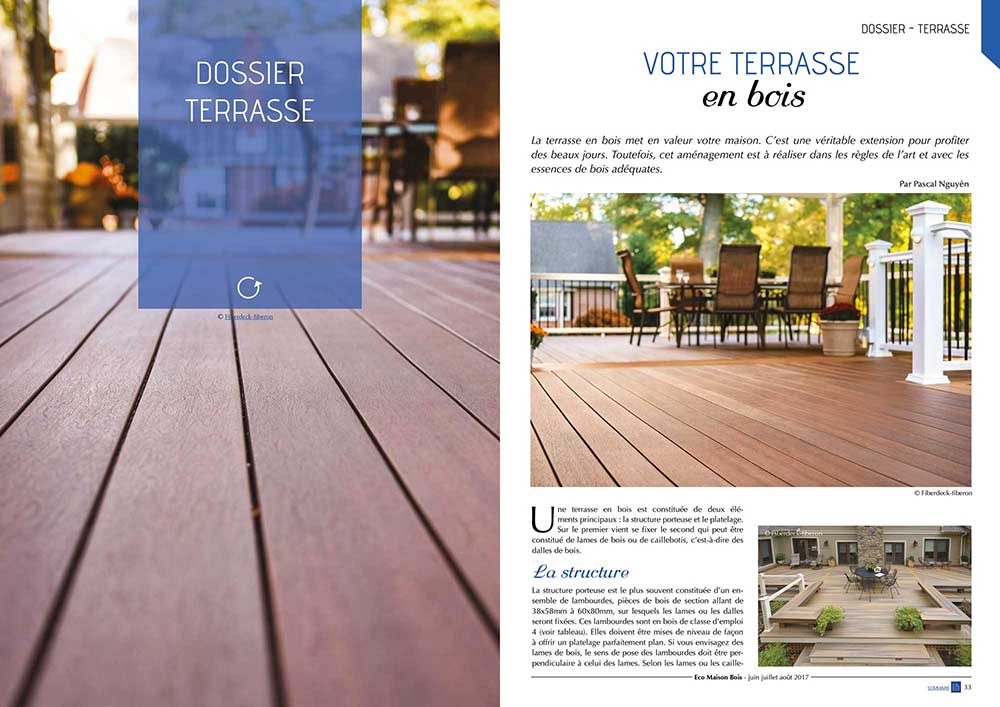 Eco maison Bois N°44- Mw communication - Graphiste Webmaster Montauban Toulouse