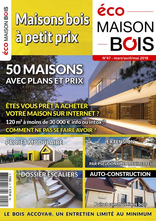 Eco maison Bois N°47- Mw communication - Graphiste Webmaster Montauban Toulouse
