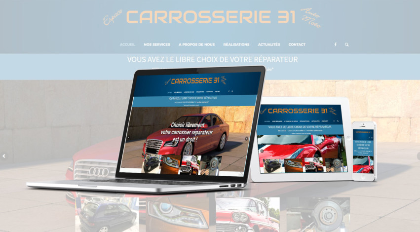 Carrosserie 31 - Mw communication - Webmaster Montauban Toulouse