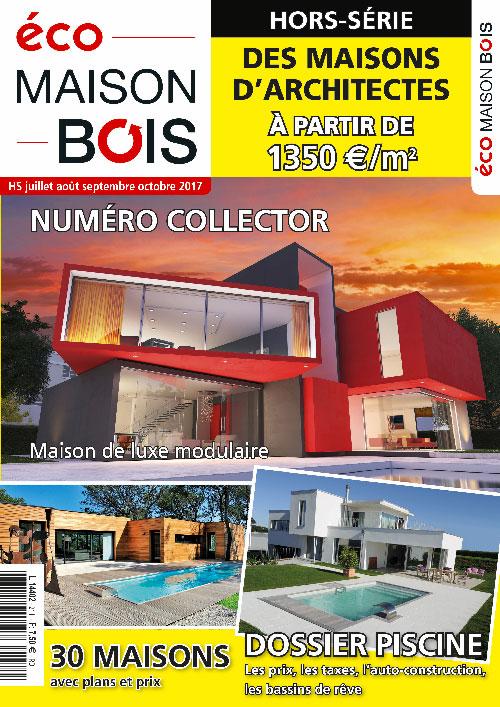 Eco maison Bois hors série n°21- Mw communication - Graphiste Webmaster Montauban Toulouse