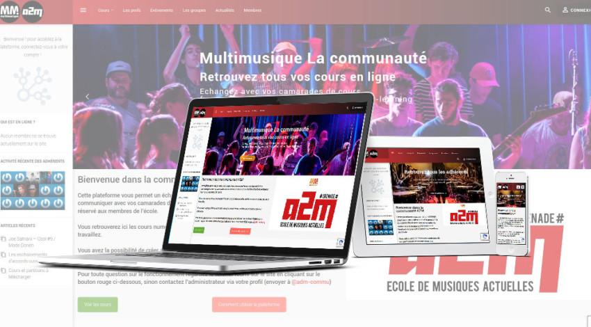 Plateforme Communautaire Multimusique - Mw< Communication