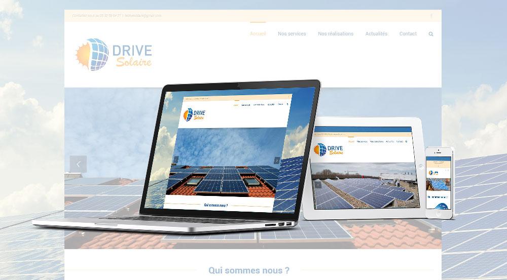 Le drive Solaire - Mw communication - Webmaster Montauban Toulouse
