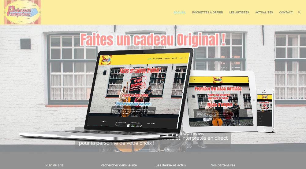 Les pochettes surprises - Mw communication - Webmaster Montauban Toulouse